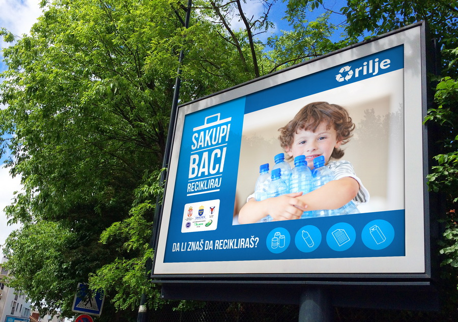 City of Arilje - Recycle Campaign - Promotional Bilbord