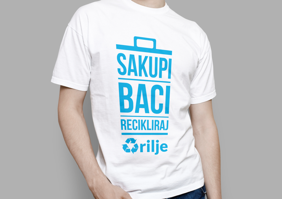 City of Arilje - Recycle Campaign - TShirt