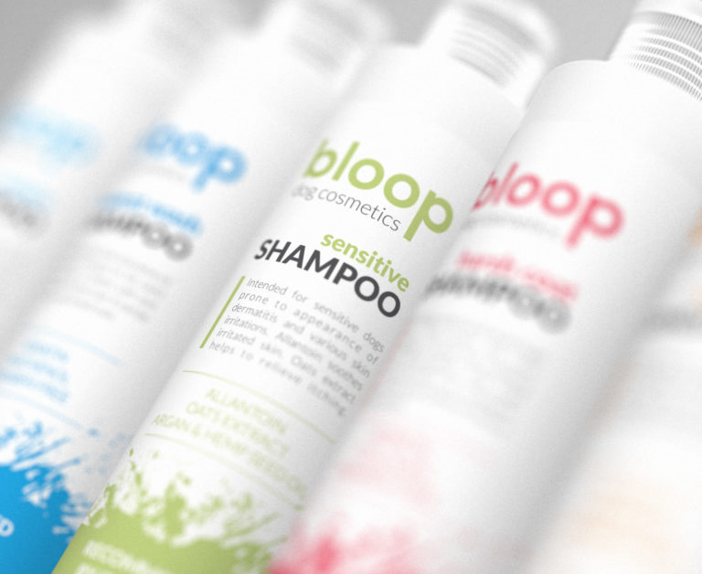 Bloop - identity and packaging design