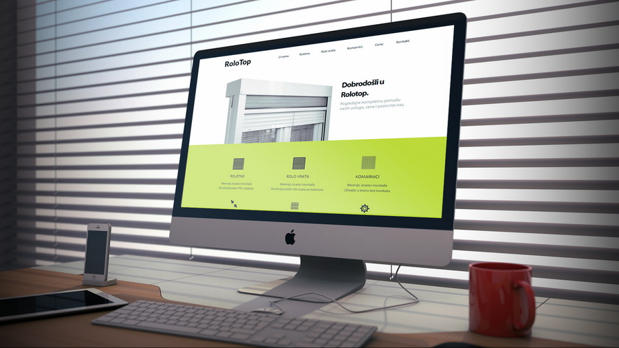 Rolotop - resposive web design - beindesign